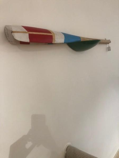 PADDLE ruder 2er set 140 x 10, aqua