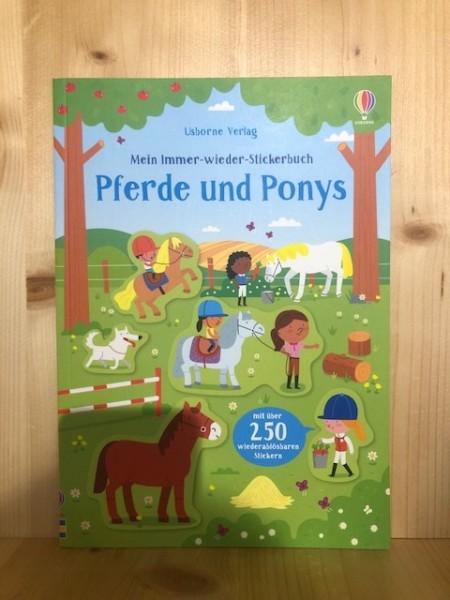Mein Immer-wieder-Stickerbuch Pferde und Ponys