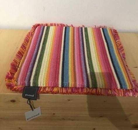 STRAW cushion cover 38x38x3, multi