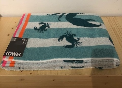 SEA beach towel 100x180