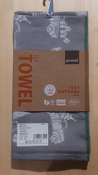 JOKES tea towels double pack 50x70, grey