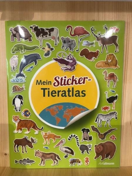 Mein Sticker-Tieratlas