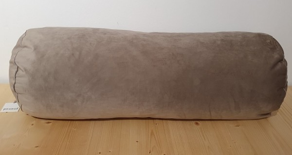ELEGANCE cushion cover Ø29 x 75, taupe