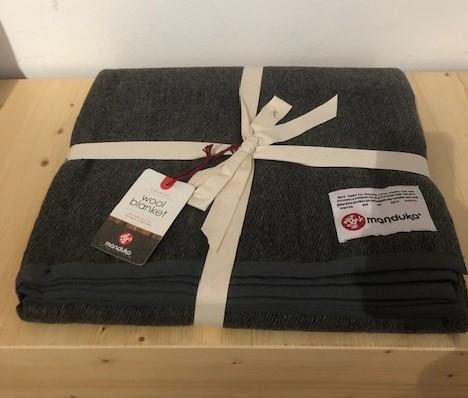 Recycled wool blanket