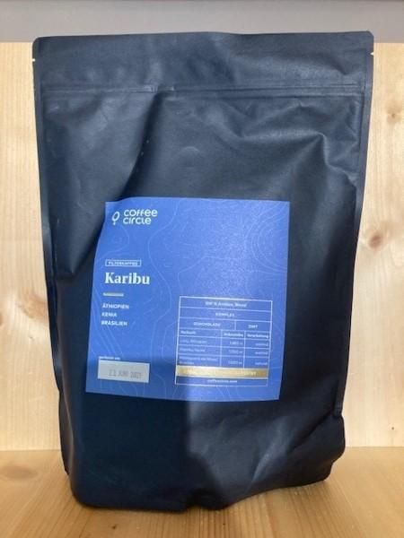 Filterkaffee 1000g - gemahlen