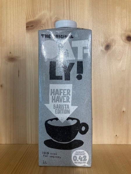 Oatly Haferdrink Barista Edition 1l Packung To Go