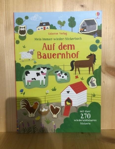 Mein Immer-wieder-Stickerbuch Auf dem Bauernhof