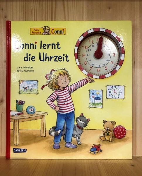 Conni lernt die Uhrzeit