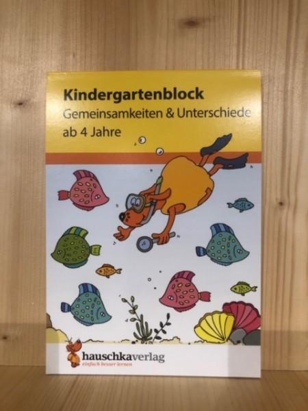 Kindergartenblock Gemeinsamkeiten & Unterschiede