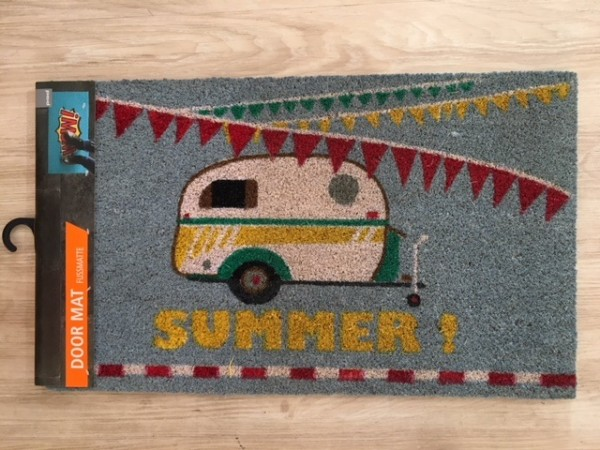 SUMMER door mat 45 x 75, caravan