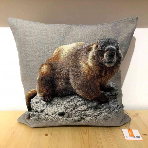 BIBER cushion cover 45 x 45, light grey