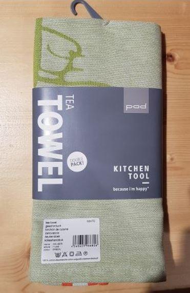 RÄUBER tea towel double pack 50x70